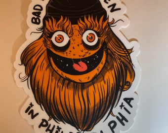 Sticker - Bad Things Happen In Philadelpia - Gritty