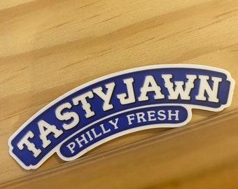 Sticker - TastyJawn Philly Fresh