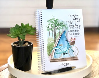 CLEARANCE (while supplies last) 2020 Inspirational Bullet Journal Planner (STANDARD Version)