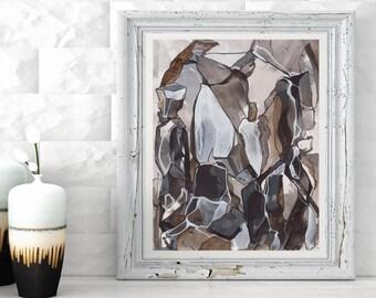 CALICO VII - Abstract Fine Art Print