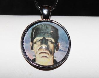 Universal Classic Monster Frankenstein Horror Necklace