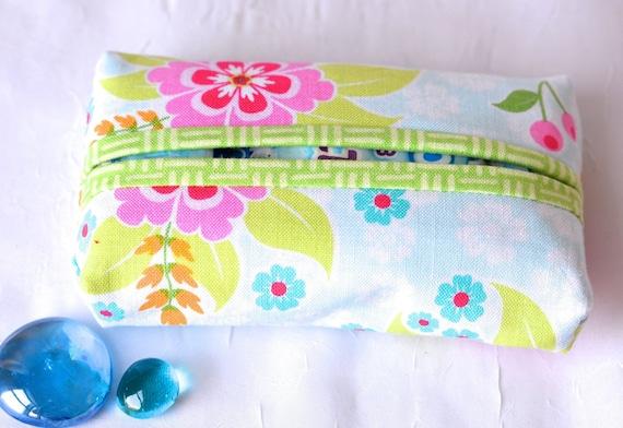 Kleenex Pocket Tissue Holder, Handmade Travel Tissue Case, Lovely Party Favor, Cute Purse Accessory, Gift Basket Filler, Stocking Stuffer