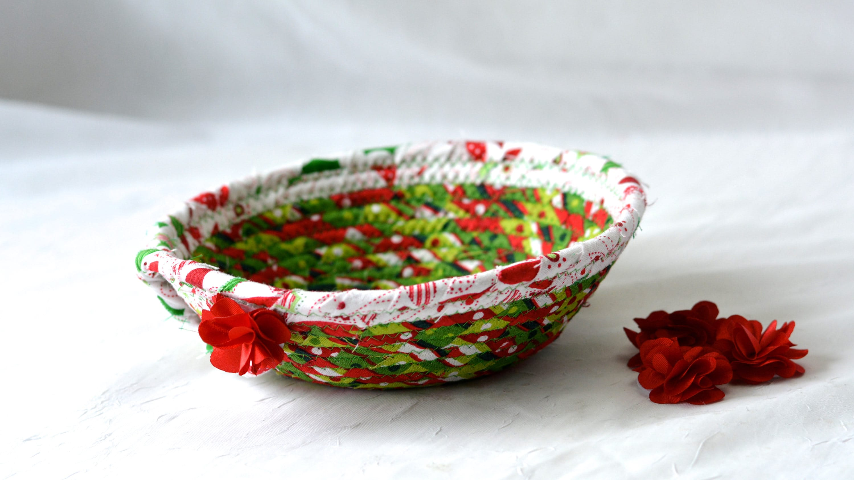 1 & Christmas Decoration Holiday Candy Dish Handmade Potpourri ...