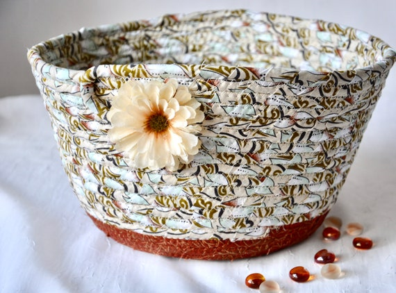 Fall Key Basket, Country Fruit Bowl, Mail Bin, Handmade Bread Basket, Napkin Holder, Cinnamon Home Decor, Remote Control bin