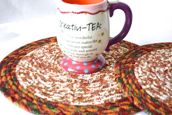 Thanksgiving Table Decor, 2 Place Mats, Handmade Trivets, Fall Potholders, Table Runners, Quilted Hot Pads, Table Topper Decoration