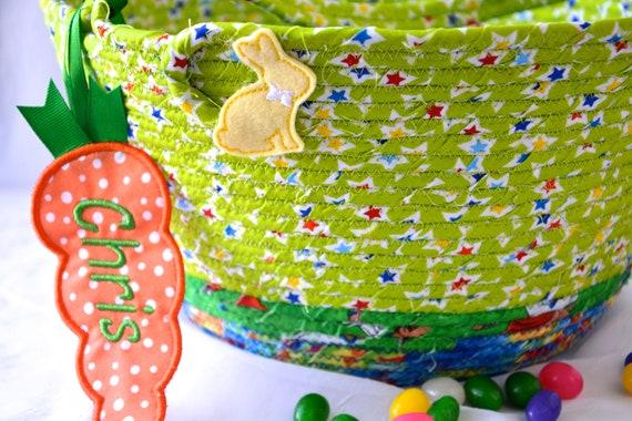 Fun Easter Basket, Handmade Green Easter Bucket, Cute Toy Storage Bin, Boy Crayon Holder, Fun Easter Egg Hunt Bag, Easter Decoration