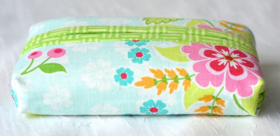 Kleenex Pocket Tissue Holder, Handmade Travel Tissue Case, Lovely Party Favor, Cute Purse Accessory, Gift Basket Filler, Stocking Stuffer
