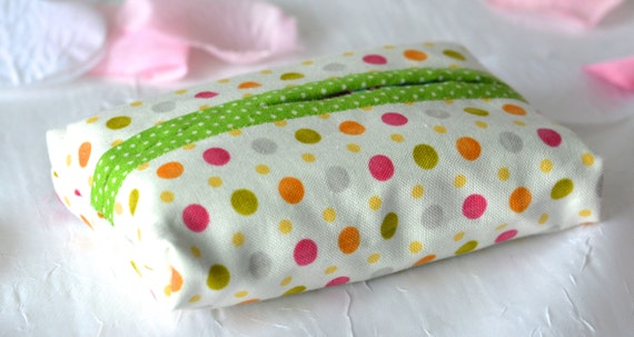 Kleenex Pocket Tissue Holder, Handmade Travel Tissue Case, Lovely Party Favor, Gift Basket Filler, Purse Accessory, Stocking stuffer
