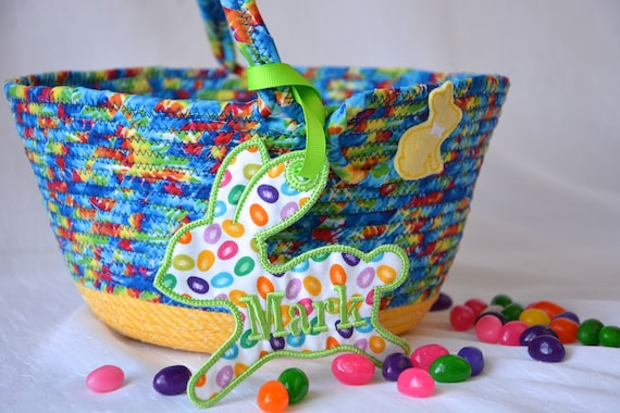 Boy Easter Basket, Handmade Easter Bucket, Crayon Basket, Boy Room Toy Organizer, Stuffed Animal Bed Bin, Storage Bin