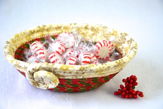 Gold Snowflake Decor, Candy Dish, Handmade Christmas Decoration, Cute Potpourri Holder Bowl, Decorative Key Basket, Holiday Ring Dish Tray