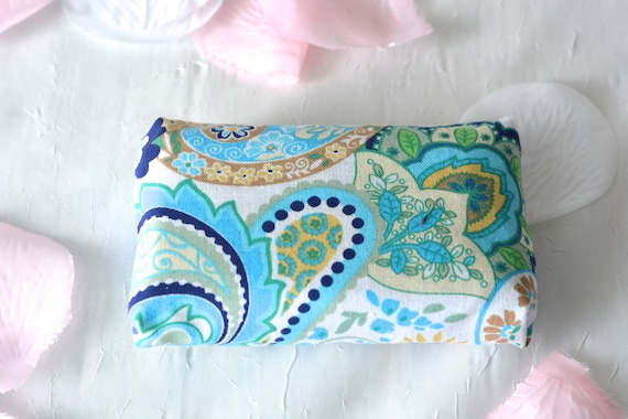Kleenex Pocket Tissue Holder, Handmade Fall Travel Tissue Case, Lovely Bachelorette Party Favor, Spring Purse Accessory