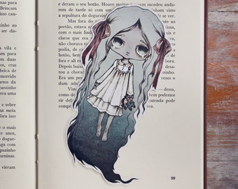 The Doll - bookmark - made to order