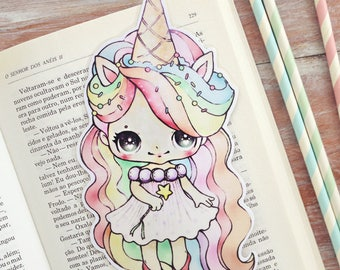 Princess Sprinkles - bookmark - made to order