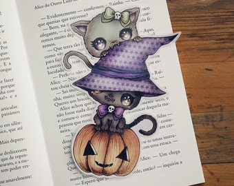 Mischievous Kitties - bookmark - made to order