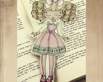 Lolita Loves Cupcakes bookmark - made to order