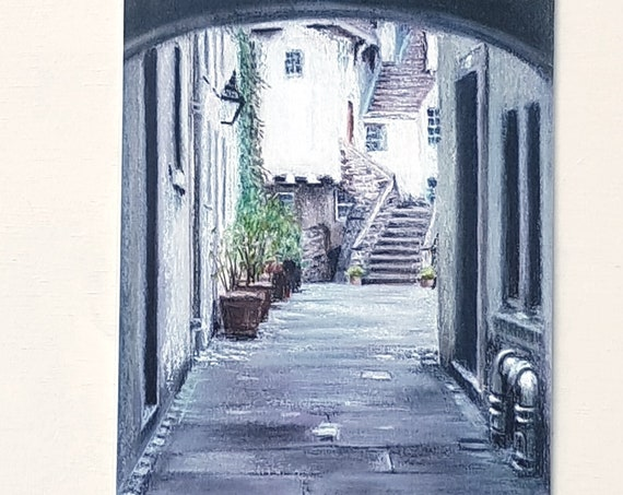 NEW!!! 2019 Edinburgh Closes calendar featuring pastel drawings by Carolanne Jardine