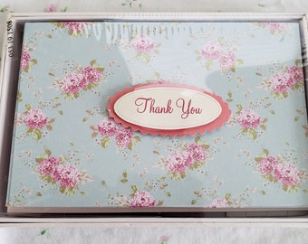 Rachel Ashwell Shabby Chic Thank You Notes - Nice notes for a wedding or shower. VHTF Retired