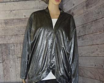 Women's Clothing Bright Jackquelin Ferrar Sz M Medium Black Leather Jacket Coat Rich And Magnificent Clothing, Shoes & Accessories