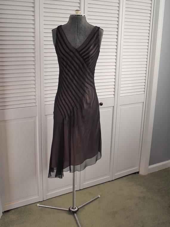 Uniquely Feminine Elegant Black Party Dress  -Free