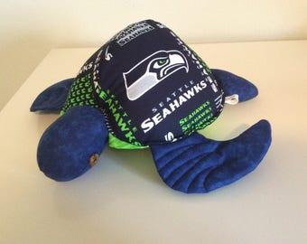 Honu - Seahawk turtle pillow