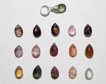 WAT2 - Multi Color Watermelon Tourmaline Pendant - Pink Tourmaline Jewelry - Green Tourmaline Gemstone Jewelry - Healing Crystals