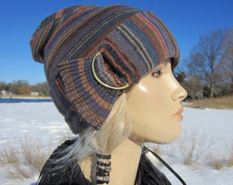 f68b6a36822 Vacationhouse Hats Slouchy Beanies Leather Hair by VACATIONHOUSE
