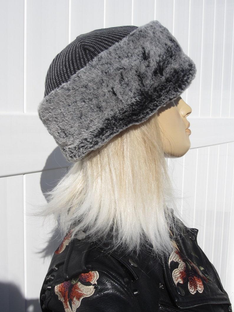 8fe65231799 VacationHouse Fur Crown Hat Russian Style Fur Ushanka Trapper
