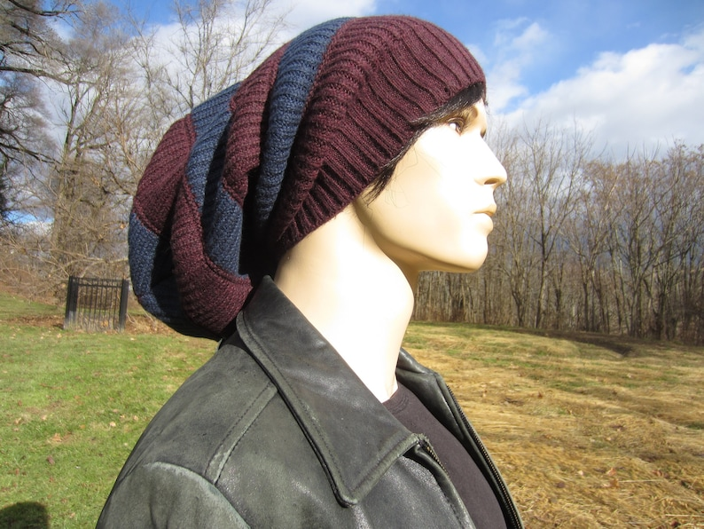 344f92d7fa5e0 Bulky Extra Slouchy Tam Chunky Big Baggy Oversized Slouch Hat