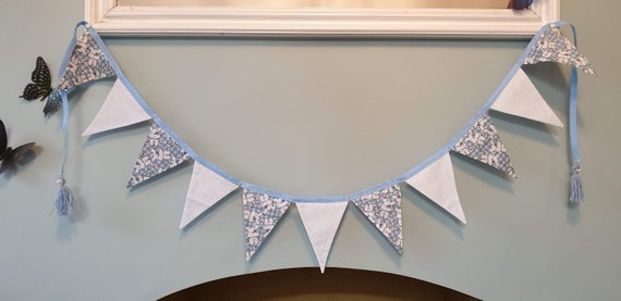 2 Metres Cute Blue Puppy Bunting
