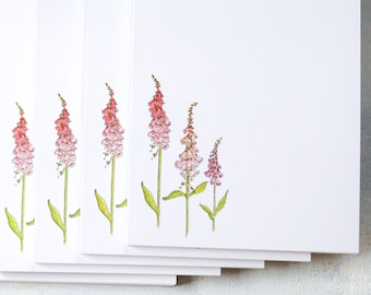 Foxgloves Notepad - Garden Planner