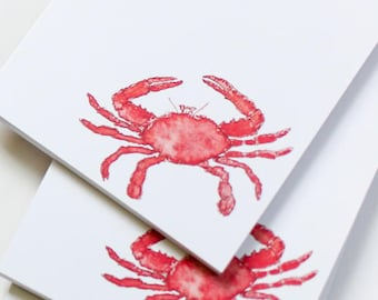 Notepad | New England Crab design