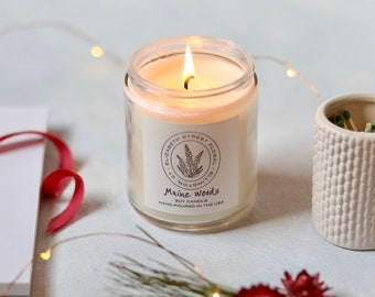 Soy Candle - Maine Woods