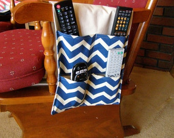 Stay Put Pouch  Remote Control Caddy Navy