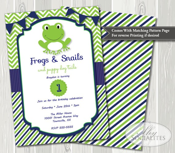 Frogs and Snails Puppy Dog Tails Birthday Sign Snips and Snails Wall Decor Snips and Snails Birthday Party Decor Frogs and Snails Sign