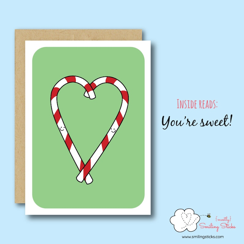Candy Cane Greeting Card image 0