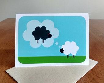Thinking of Ewe Greeting Card