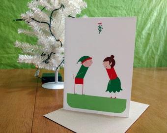 Happy XOXmas Greeting Card