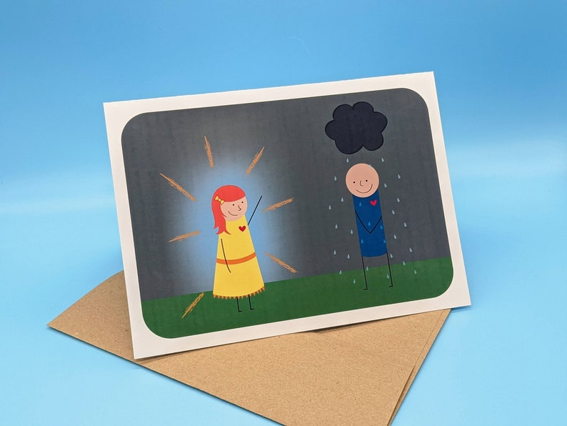 You Are My Sunshine Greeting Card image 1