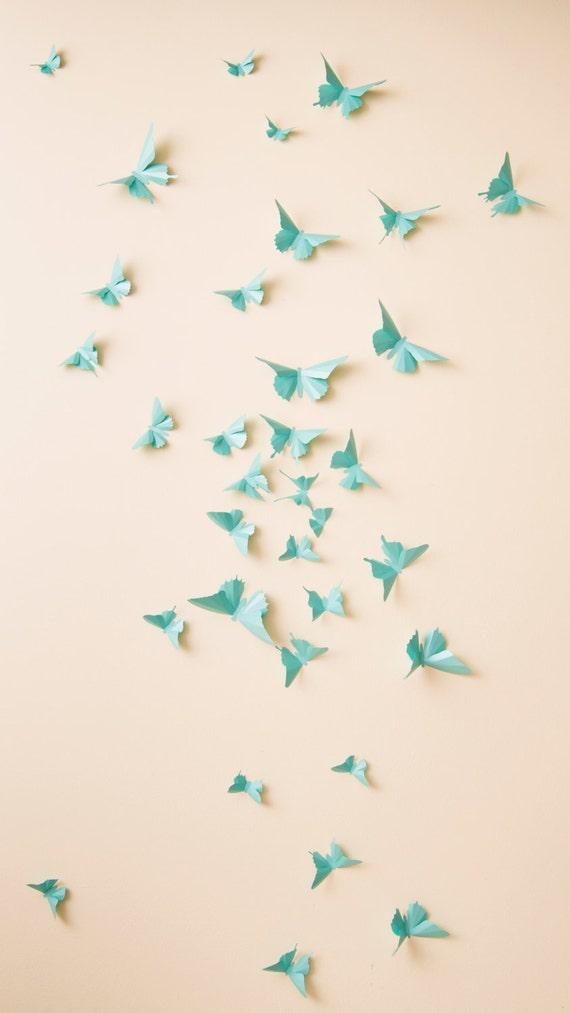 3D Butterfly Wall Decor: 3D wall butterflies nursery decor | Etsy