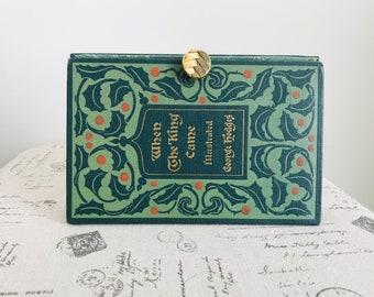 Book Purse Book Clutch