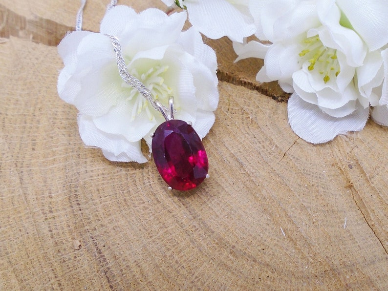 Blood Red Ruby July Birthstone Ring 15.19x10.85 mm Over 12 Natural Red Ruby Hand Cut irregular 13.00 Carat Red Sparkle Sterling Silver