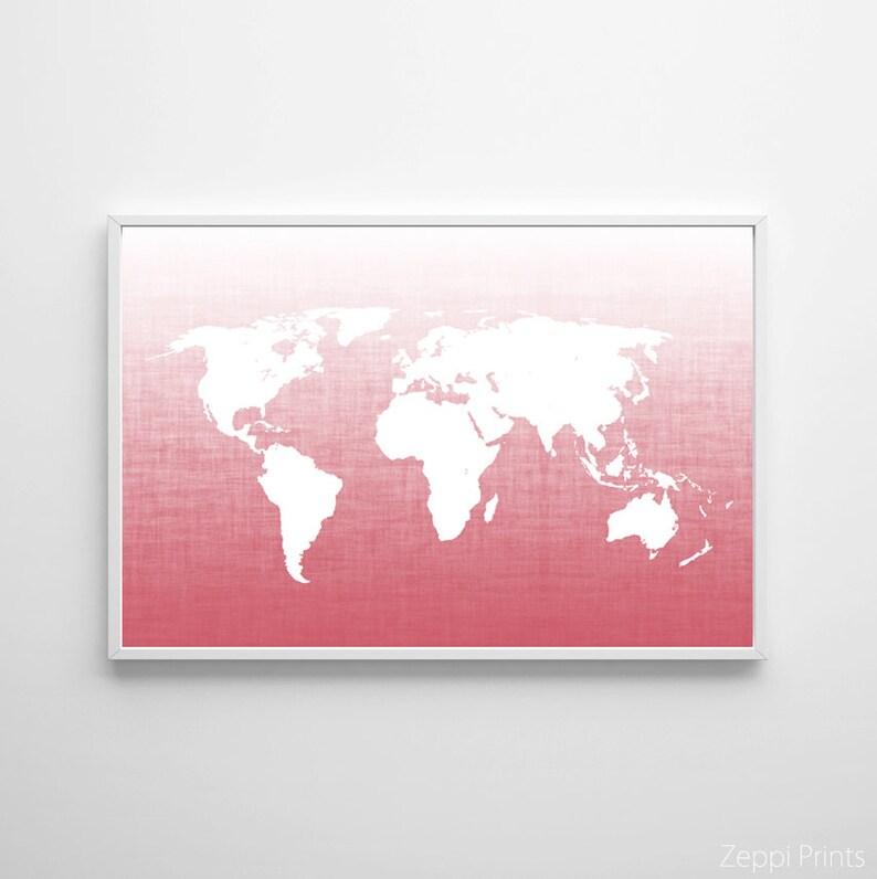 Blush Rose Wall Art , World Map Poster , Large Wall Art Map , Ombre on a whole world map, bamboo world map, lighting world map, discount fabric world map, mahogany world map, gold leaf world map, turtleneck world map, tomato world map, angora world map, bedding world map, animal print world map, orchid world map, burgundy world map, jewelry world map, mocha world map, lime world map, tobacco world map, rose world map, sage world map,