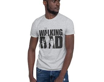 THE WALKING DAD Spruch Papa Vater Geschenk Mann Dead Retro Sweatshirt