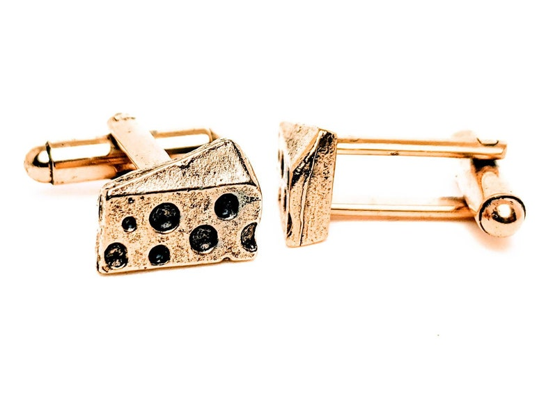 Cheese Cuff Links image 0