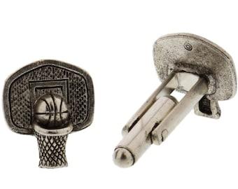 Basketball Hoop Cuff Links