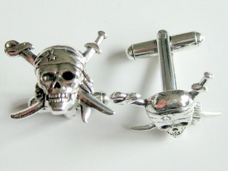 Skull Swords Cuff Links image 0