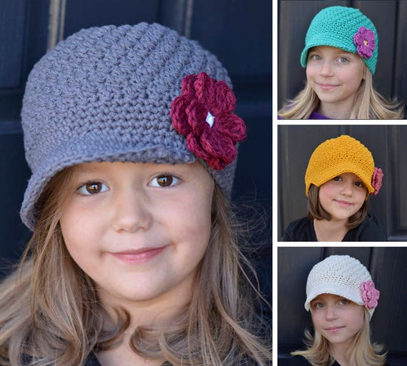 Kids Crochet Hat Pattern Crochet Pattern For Kids Kids Etsy