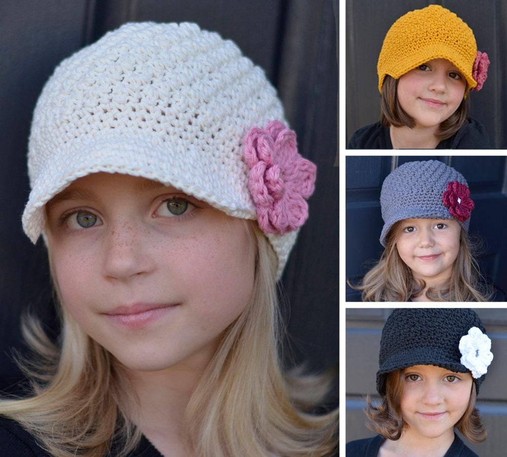 Modèle de chapeau enfant Crochet modèle de Crochet pour les | Etsy