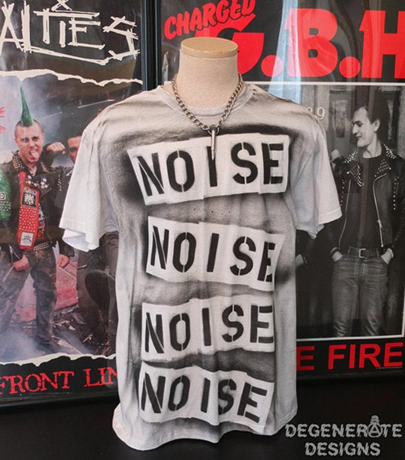 Punk TShirt Punk T Shirt Punk T-shirt Punk Rock Shirt Top 77 image 0