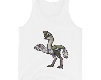 Oviraptor Cute Dinosaur Unisex Tank Top